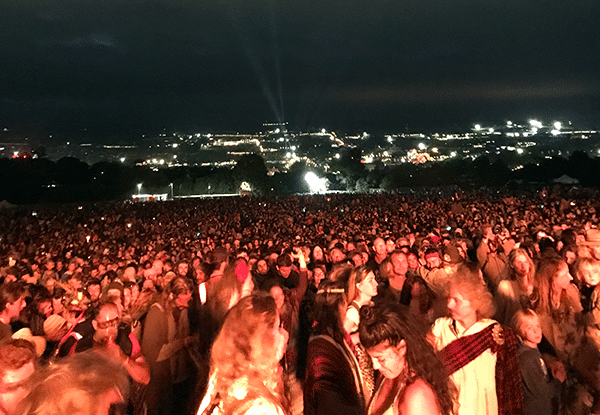 Opening Ceremony of Glastonbury