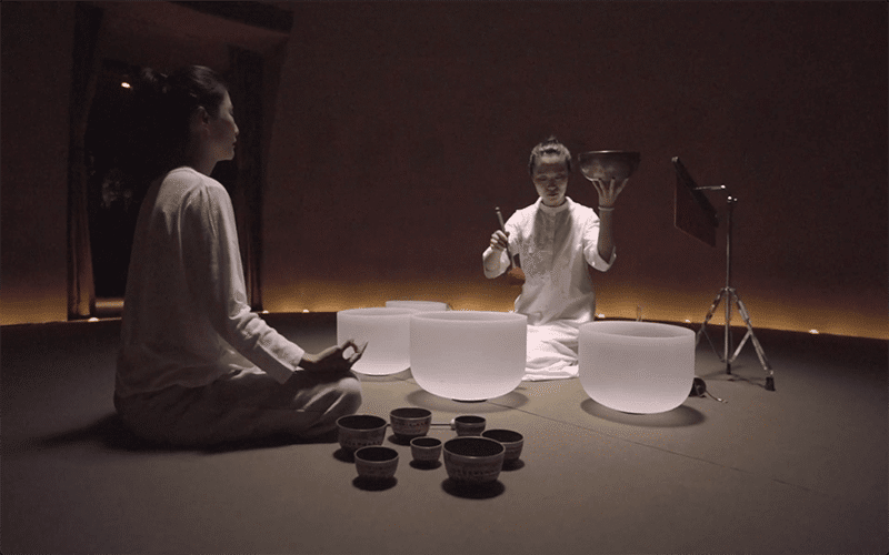 Sound Healing at SANGHA Retreat by Octave Institute
