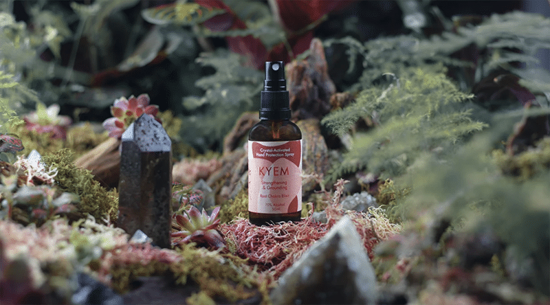 Root Chakra Crystal Activated Hand Protection Spray