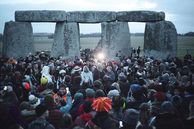 Winter Solstice at Stone Henge