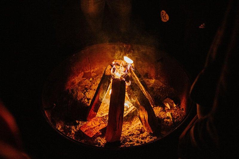 Beltane Log Fire